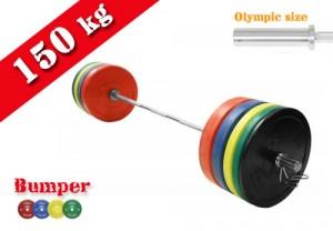 150kg-bumper-plate-set