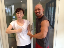 57歳女性!体重-7.2㎏&体脂肪-7.6%!!ボディメイク J・Iさん(女性)