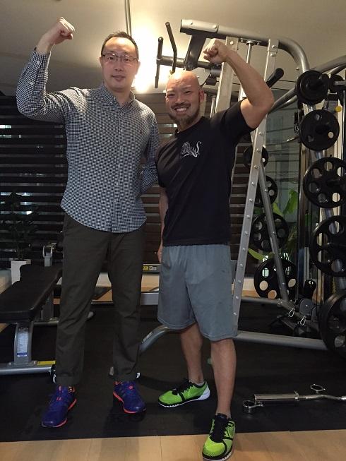 仕事が忙しい35歳男性!12回のトレーニングで-7kg達成!!